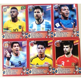 Cards Collections World Cup Rússia 2018