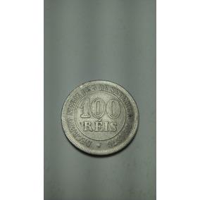 Moeda 100 Réis 1881 - Império