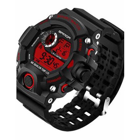 Relógio Digital Esportivo / Cronógrafo / Led Noctilucente
