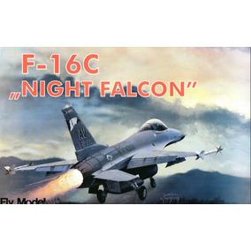 F-16 Night Falcon Papercraft Cortar Colar E Montar