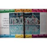 Foto Grabado Antiguo Mexico 68 Y Las 8 Niñas
