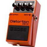Boss Ds-1x Distorsión Pedal De Efecto Para Guitarra