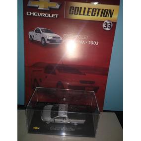 Miniatura Chevrolet Montana 2003 Com Fascículo Lacrados