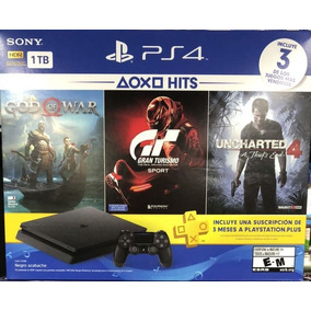 Ps4 Slim 1tb Hdr Playstation 4 (3jogos+psn)-envio Imediato!