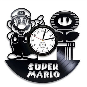 8e73ca392f8 Relogio De Parede Mario Bros - Relógios no Mercado Livre Brasil