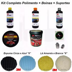 Kit Boina 3m Polimento - Limpeza Automotiva no Mercado Livre Brasil b744bc5313c