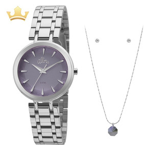 Relógio Allora Feminino Kit Al2036flm/k3a Com Nf
