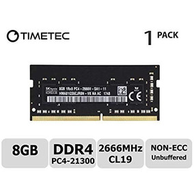 Memoria Ram Laptop Timetec Ddr4 2666 Mhz 8gb Made In Usa