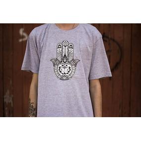 Camisa Camiseta Blusa Maconha Hamsá Cannabis Stuffs Branding