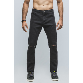 Jeans Synergy Ripped Negro H403i - W6