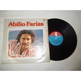 Lp Vinil - Abílio Farias - Vou Fechar O Cabaret