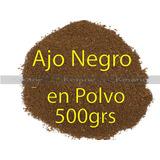 Ajo Negro Medio Kilo Polvo Mayoreo Black Garlic Encapsular