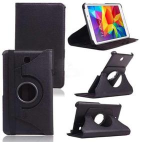 Capa Para Tablet Galaxy Tab 3 Giratório Preto