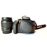 Camara Reflex Canon T6 Wifi 18mp Con Lente 18-55 Fotografía