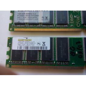 Ddr2 Pc3200 1gb 400mhz Kit Com 3 Pentes