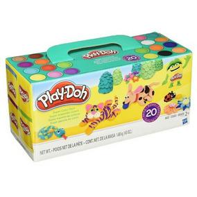 Paquete De 20 Potes Play-doh Original Hasbro