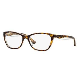 4fbea32d963cb Armação Oculos Grau Vogue Vo2961 1916 53mm Marrom Havana Bri · R  234 06