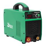 Máquina Solda Inversora 200a Bivolt Brax Profissional Bx7