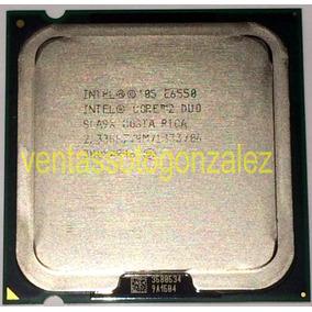 Procesador Intel® Core 2 Duo E6550 4m Cache/2.33ghz/1333 Mhz