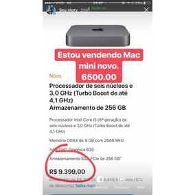 Mac Mini 2018 Novo