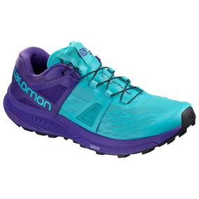 Tênis Salomon Sense Ultra Pro Feminino (azul/roxo 35)