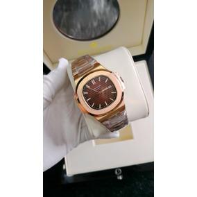 Relógio Dourado Automático Eta 1.6 - Frete Grátis