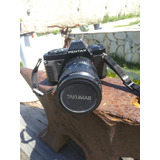 Camera Fotografica Pentax P30n Lente Tarumar-a 1:3.5~4.5leia
