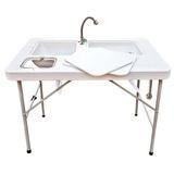 Mesa Plegable Con Lavabo Articulos De Cocina Cdmx Df