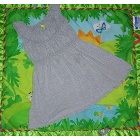 Vestido Casual Plisado Color Gris