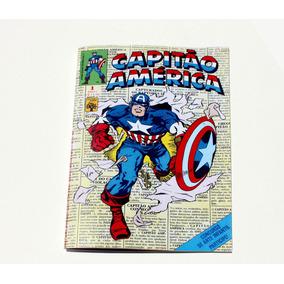 Capitão América # 1 - Abril - 1979 - Hq Gibi - Fac-sim.