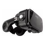 Óculos Virtual Vr 3d Bobo Z4 Preto Original Com Fone