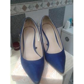 5e8f194b8dc5e Stiletto Azul - Stilletos Zara de Mujer en Mercado Libre Argentina