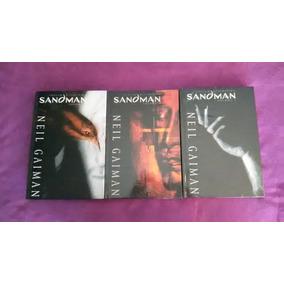 Sandman - Edição Definitiva Vol 1, 2 E 3 - Capa Dura