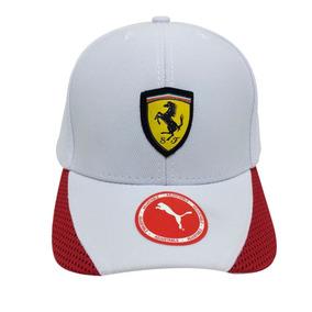 Boné Ferrari Sport Aba Curva Várias Cores 123921bceae