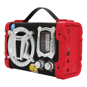 Caixa Amplificada Boombox Portátil Amvox Aca 90 Bluetooth