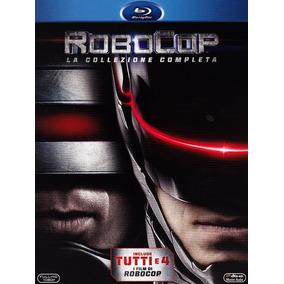Blu-ray Coleção Robocop Quadrilogia Dublado Lacrado