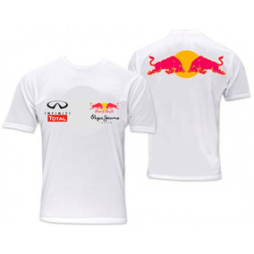 Camisa Infiniti Red Bull Racing Official Teamline Functional ... c7520d87a19