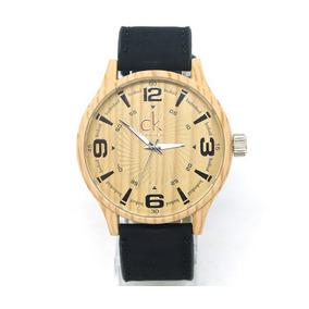 Relógio Ck Bege E Preto Original - Melhor Preço!