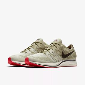 Tenis Nike Flyknit Trainer Olive Velvet Brown 10 Usa 28 Mex