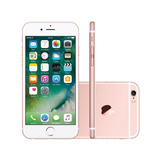 Iphone 6s Ouro Rosa, 32gb +película+mais Todos Os Acessórios