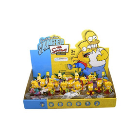 Simpsons Bonecos Kit Com 4 Bonecos Miniaturas