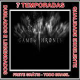 Game Of Thrones (1ª Até 7ª Temporada) Serie + Frete Grátis