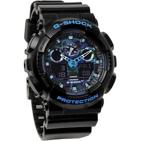 2a073298270 G Shock Correia Camuflado Preto - Relógios De Pulso no Mercado Livre ...