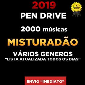 Pen Drive Gravado 8gb + 2000 Musicas Misturadao