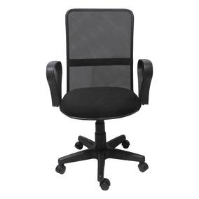 Cadeira Fortt Giratória Preta 4181a