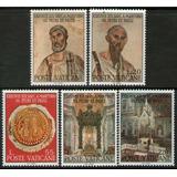 Vaticano 5 Sellos Mint 19° Mártires San Pedro Y San Pablo
