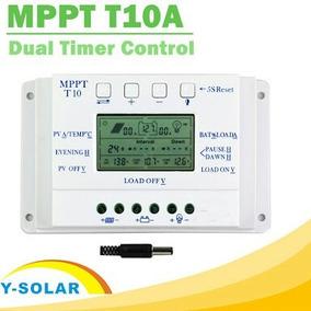 Controlador De Carga Mppt Energia Solar T10 - 10a 12v / 24v
