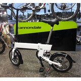 Bicicleta Importada Dobrável Elétrica Aro 16 Branca