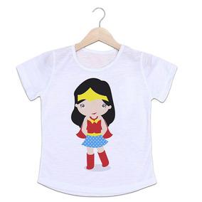 8a57053dea Camiseta Infantil Mulher Maravilha