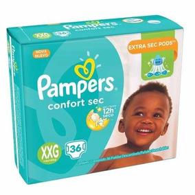 Pampers Confort Sec Xxg 36
